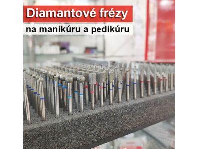 Diamantové brúsne nástavce pre prírodné nechty