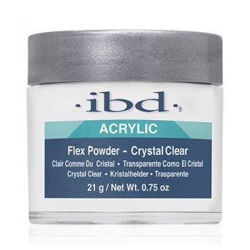 Transparentný akrylový púder ibd Crystal Clear Flex