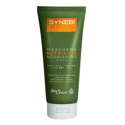 Výživná maska pre suché vlasy s výťažkami z mandlí a organických veroníc