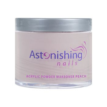 Akrylový púder kamufláž Astonishing Nails Makeover Peach Acrylic Powder