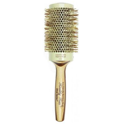 Lacná profesionálna kefa na vlasy s bambusovou rukoväťou