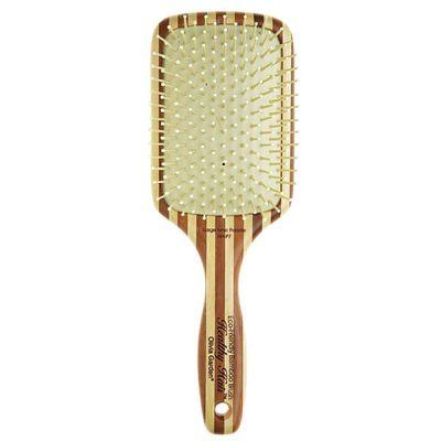 Lacná profesionálna kefa na vlasy s bambusovou rukoväťou Olivia Garden