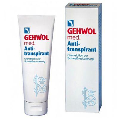 Krém antiperspirant od podráždenia a škodlivých baktérií