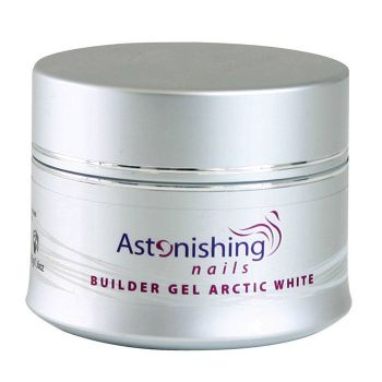 Stavebný UV Gél Astonishing Nails Builder Ultra White
