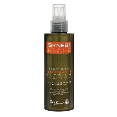 Sprej s organickým arganovým olejom a vitamínom E pre lesk vlasov