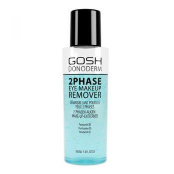 Očný odličovač Gosh Donoderm 2 Phase Eye Makeup Remover