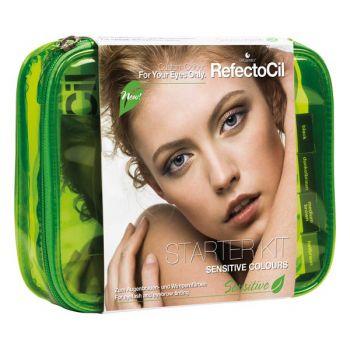 Štartovacia sada na farbenie obočia a mihalníc RefectoCil Sensitive Starter Kit