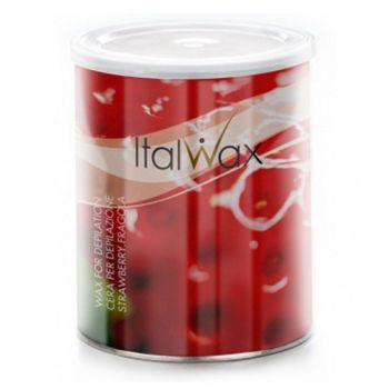 Vosk na depiláciu Jahoda Italwax 800 ml